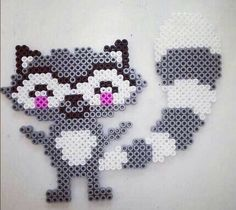 Racoon hama Beads