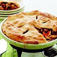 Chicken Gumbo Pot Pie. So delicious!