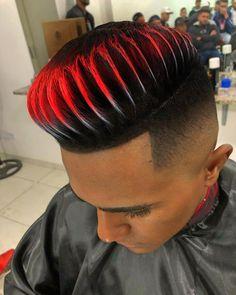 Hair Color White Men Colour New Ideas Fade Haircut Styles, Short Hair Styles, Baddie Hairstyles, Boy Hairstyles, Mens Hair Colour, Hair Color, Gents Hair Style, Shaved Hair Designs, Haircut Designs