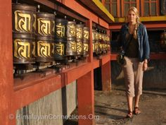 Learn Tibetan Buddhism on a Gap Year. Yoga and meditation are good for you!