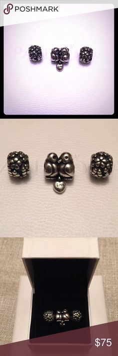 Pandora charms bundle In excellent condition, comes with box Pandora Jewelry Bracelets