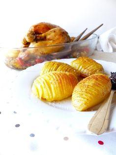 Leur jolie présentation mise à part, les pommes de terre à la suédoise ont une texture fondante et croustillante. Et pas besoin de surveiller la cuisson!