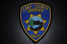 Lake County Jail Patch - Police / Sheriff - 4 1/2 x 3 1/2