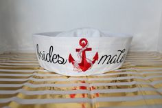 bridesmate sailors hat! perfect for that nautical themed bachlorette party in vegas!!!