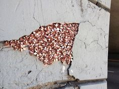 Artist Hides Crystallized Geode Installations Inside Wall Cracks To Bring Life To Urban Areas | Bored Panda