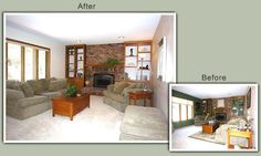 Decorating for the masses  Google Image Result for http://www.homestagingexpert.com/images/before_after_pics/eden_prairie_family_room.jpg