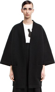 Acne Studios - Denice boiled black