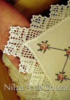 Captivating All About Crochet Ideas. Awe Inspiring All About Crochet Ideas. Crochet Lace Edging, Crochet Motifs, Crochet Borders, Love Crochet, Beautiful Crochet, Crochet Doilies, Crochet Flowers, Crochet Stitches, Pinterest Crochet