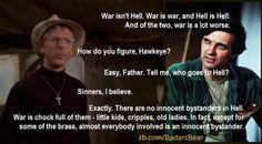 War isn't hell; it's worse.