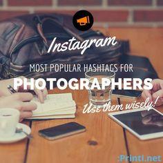 Popular Hashtags For Photographers #Instagram