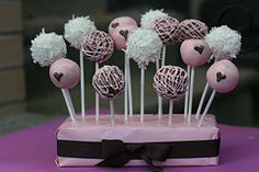 Cake Pops by GoodieBox BakeShop #EasyPin
