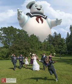 Esküvői fotózás új őrülettel: Esküvői invázió