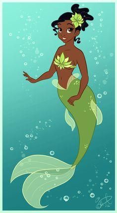 Tiana Mermaid