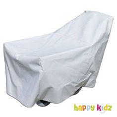 """Mit unserer Regenplane für Krippenwagen """"Klassik"""" - Happy Kidz ist Ihr Wagen auch bei Nässe draußen gut aufgehoben."""