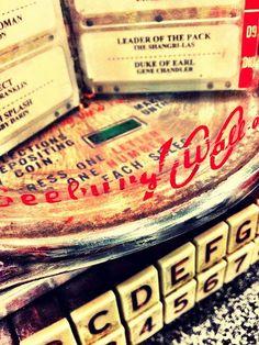 50s Diner jukebox | Vintage Jukebox Photograph, retro 50s diner, nostalgic home decor ...