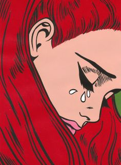 Images and videos of pop art Cartoon Kunst, Comic Kunst, Cartoon Art, Comic Art, Sad Girl Art, Pop Art Girl, Up Girl, Kunst Inspo, Art Inspo