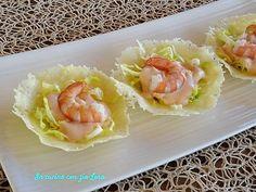 Gamberetti+in+salsa+rosa+su+cestini+di+grana