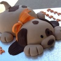 Puppy Dog Cake Can Someone Make This For My Birthday Year Maybe