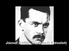 József Attila - Tanítások  (részlet) - Dankó Hajnalka Book Worms, Youtube, Drawing Ideas, Authors, Poems, Hat, Google, Ideas For Drawing, Chip Hat