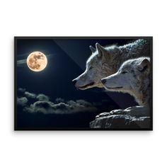 Wolves Framed poster