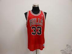 Vtg 90s Champion Chicago Bulls Scottie Pippen # 33 Basketball Jersey sz 48  #Champion #ChicagoBulls #tcpkickz