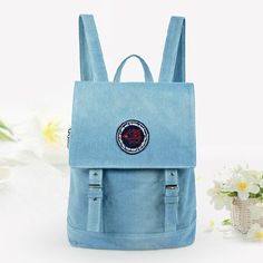 stacy bag hot sale women canvas backpack girl small vintage travel backpack ladies casual travel bag student school bag $16.00