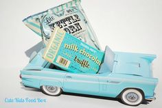 Hot Rod Party   Favor Box   Food Box   Food by CUTEKIDSFOODBOX, $10.00