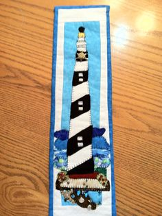 Hatteras OBX Lighthouse. Pattern by needlework from deb