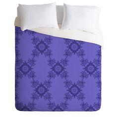 Lara Kulpa Ornamental Purple Duvet Cover #plum #bedding #bedroom