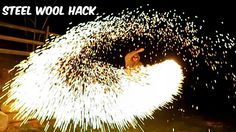 Crazy Russian Hacker Creates a DIY Sparkler Using Steel Wool