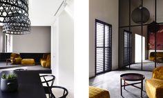 Fitzroy based architecture practice established 1999 by Patrick Kennedy & Rachel Nolan Kennedy Nolan, St Kilda, Saints, Dining, Living Room, Architecture, Inspiration, Furniture, York Street