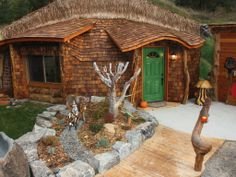 La casa Hobbit  Thompson Falls - Montana (USA)