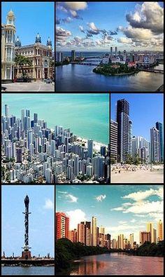 Cidade do Recife- Vários ângulos- PE- Brasil