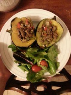 Stuffed acorn squash, Paleo and Acorn squash on Pinterest