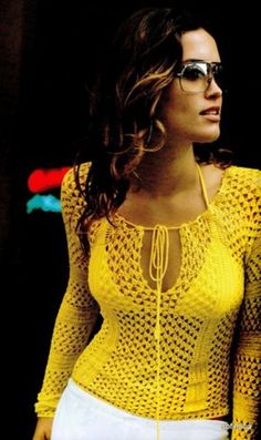 sunny 70ies      ♪ ♪ ... #inspiration_crochet #diy GB http://www.pinterest.com/gigibrazil/boards/