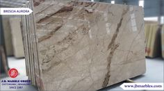 Imported Beige Marble (Brescia Aurora) is a stunning white and beige marble with light rust veins. It is available both in a honed or polished finish and in a variety to tile sizes as well as slabs. Beige Marble, Aurora, Rust, Tile, Antiques, Home Decor, Antiquities, Mosaics, Antique