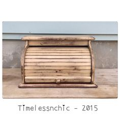 A personal favorite from my Etsy shop https://www.etsy.com/listing/252745300/breadbox-bread-box-wooden-bread-box-roll
