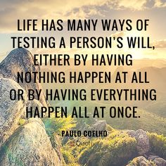 Many Ways Of Testing A Person....