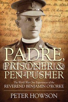 Book cover design - Padre, Prisoner & Penpusher, Helion Books