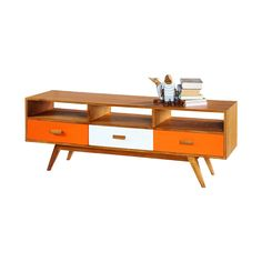 Passion for Retro Medium Sideboard or Television Stand Television Cabinet, Television Stands, Som Retro, White Cedar, Sideboard, Magazine Rack, Storage, Room, Inspiration