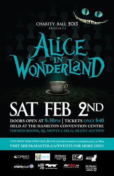 Alice In Wonderland Charity Ball