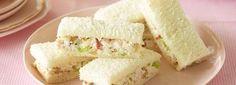 Waldorf Finger Sandwiches