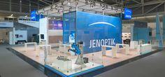 Messebau in München für unseren Kunden #Jenoptik, für die #Messe World of Photonics. http://www.messebau.com/chritto/messebau-muenchen #messebau #munich #exhibitionbooth #boothconstruction