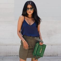 @walkinwonderland can do no wrong in head to toe JustFab and our exquisite Pearson cross body bag