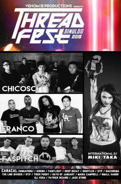 Threadfest Sinulog 2015 Parkmall | Cebu Finest Sinulog, Music Events, Cebu, Live Music, Dj, Cebu City, Men's Fitness Tips