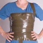 DIY corset in 3 parts