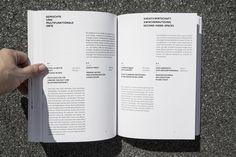 Ortsentwürfe on Editorial Design Served