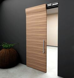 modern sliding wooden doors - Things You Ought To Know About Sliding Doors – Interior Design House Design, Barn Doors Sliding, Closet Doors, Modern Interior, Doors Interior Modern, Barn Door Hardware, Modern Sliding Doors, Sliding Door Design, Modern Door