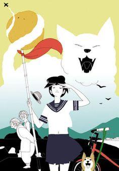 ノスタルジックな現代アート!人気イラストレーター中村祐介作品集 - NAVER まとめ Manga Anime, Anime Art, Cat Art, Illustrations Posters, Art For Kids, Disney Characters, Fictional Characters, Illustration Art, Kawaii