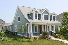 green color cape cod houses | Stone Cape Cod